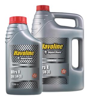 Texaco Havoline Ultra R 5W-30